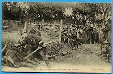 CPA: Carabiniers Belges défendant une position / Guerre 14-18 / 1915