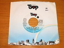 "PROMO SOUL 45 RPM - FRANKY & THE SPINDLES - TSOP 4755 - ""AS LONG AS YOU LOVE ME"""