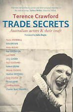 Trade Secrets 'Australian Actors and Their Craft Crawford, Terence  New, free ai