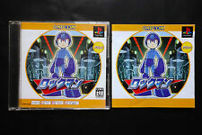 ROCKMAN Complete Works Sony PlayStation PS1 JAPAN Very.Good.Condition !
