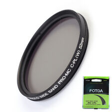 FOTGA 52mm PRO1-D MC CPL Filter Optical Glass Multi-Coated Circular Polarizing