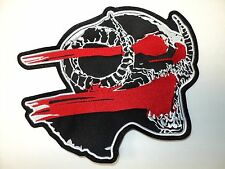 MERCYFUL FATE    SHAPED  LOGO  EMBROIDERED BACK PATCH