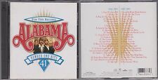 For the Record ALABAMA 41 Number One Greatest Hits 1980-1996 2 Disc 1998 CD Set