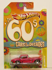 HOT WHEELS THE 60S CARS OF THE DECADES '62 CORVETTE