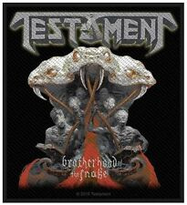 TESTAMENT - Brotherhood of the snake Patch Aufnäher 8x10cm
