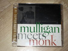 SACD Hybrid Mulligan Meets Monk ultra rare Super Audio CD GOLD
