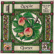 Apple Tree biglietti d'auguri May Day-Halloween Celtico-Wiccan pagane Alfabeto ogamico