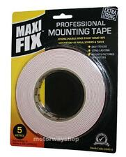 Strong Double Sided Mounting Tape Sticky Foam 24mm X 5M Car Home Maxi Fix