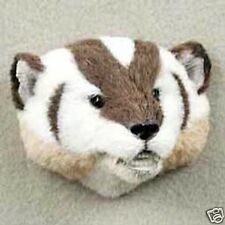 BADGER! Collect Fur Refrigerator Magnets (Handcrafted & Hand painted)
