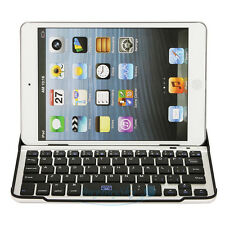 New Aluminum Bluetooth Wireless Keyboard Keypad Case Cover For iPad Mini Tablet