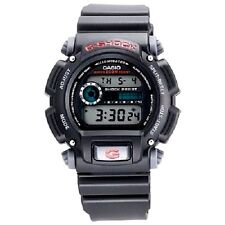 Casio DW9052-1V Mens G-Shock 200m Chronograph Black Resin Tough Sports Watch New