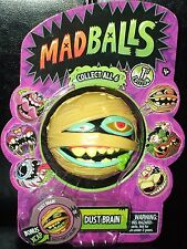 Retro MAD BALLS  DUST BRAIN Mummy Foam Ball 1st Edition #02 +bonus XCAP MadBalls