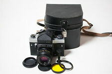 Kiev-60 TTL + MC Volna-3 2.8/80 lens medium format 6x6 film camera, EXCELLENT+