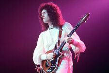 QUEEN BRIAN MAY WITH GUITAR LATE 70'S 24X36 POSTER