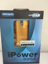 POWER BANK Batería externa cargador universal para movil y tablet de 6800mah USB