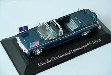 1:43 Lincoln Continental Limousine SS-100-X JFK Presidential Car, Atlas Editions