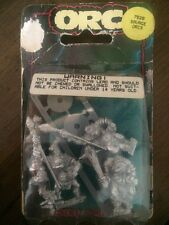 Citadel Savage  Orc Warriors  New In Blister Games Workshop  Metal OOP