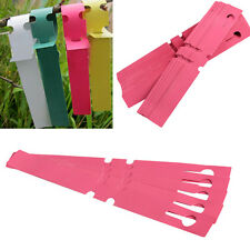 200pcs 2x20cm Waterproof Plastic Plant Hanging Tags Nursery Gardening Labels