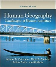 Human Geography Landscapes Of Human Activities By Jerome D Fellmann 11th edition