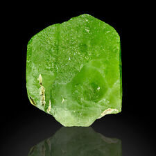 "1.3"" 171ct Jelly Bean Green PERIDOT Large Gemmy Crystal Pakistan for sale"