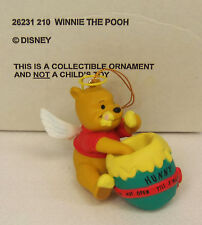 Groiler Disney WINNIE THE POOH Angel Christmas Magic Ornament #210 MINT in BOX