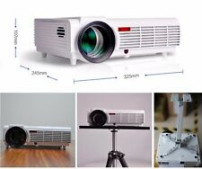 5000 Lumens Mini LED-96 HD 1080P 3D Full HD LCD Home Theater Projector Video TV