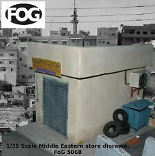 1/35 Scale Mid Eastern store / garage diorama kit - Iraq / Afghan military model