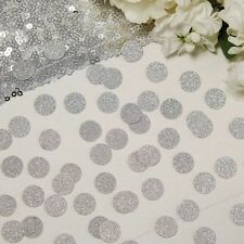Silver Glitter Table Confetti - Wedding/Birthday Party Table Decoration