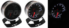 60mm Electronic Oil Temperature Gauge - White Backlit Defi/JDM Style