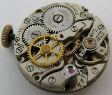 Peseux 60 17 jewels complete watch movement for parts with sweep second ...