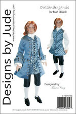 Outlander Jamie Suit Doll Clothes Sewing Pattern for Matt O'Neill Tonner