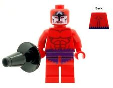 Custom Minifigure Klaw from Fantastic Four Printed on LEGO Parts