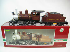 LGB 2219S G-Scale Pennsylvania 2-6-0 Mogul Locomotive w/ Sound & Smoke