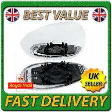 Left Passenger Side Heated Wing Door Mirror Glass for FIAT GRANDE PUNTO 2005+