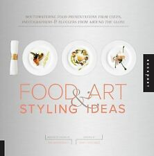 1,000 Food Art and Styling Ideas: Mouthwatering Food Presentations fro-ExLibrary