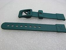 Authentic Fila 15mm Plastic watch band Green fits other sports watches