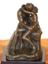 Weltberühmte KÜNSTLER Bronze DER KUSS von AUGUSTE RODIN