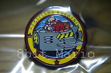 SONIC THE HEDGEHOG DR Professor ROBOTNIK locale RARO PROMO smalto pin badge pin