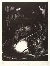 GREGOR TORSTEN KOZIK - DAS HERZ DES TRAUMES SCHLÄGT - Lithografie 1989