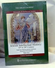 Jewish Intellectual History 16th to 20th Century Great Courses Teaching Co. NEW