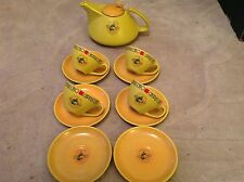 1 Coffee Pot 4 Cups 6 Saucers by H M Design Germany.