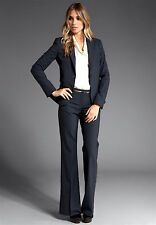 THEORY NWT $1000 SALE!!! 'GABE B /MAX C TAILOR' Stretch Wool INDIGO PANT SUIT 12