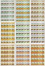 10 x AUSTRALIA Railway Stamp Sheets (500 Stamps) Train / Locomotive WHOLESALE