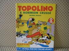 Topolino e Robinson Crusoè -Gli Albi d' Oro- Albo n. 34- 15 gennaio 1940  (AB0)