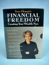 Suze Orman - Financial Freedom, Creating True Wealth Now - Set of 9 CDs