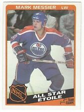 1984-85 OPC HOCKEY #213 MARK MESSIER ALL-STAR - EXCELLENT-