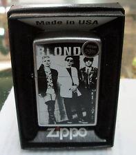 BLONDIE ZIPPO LIGHTER AUTHENTIC 2013 LICENSED ROCK N ROLL DEBRA HARRY