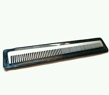 "Barbers Metal 7"" Hair Comb for Precision Cutting Thermal comb with popular retro"
