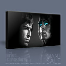 OASIS NOEL & LIAM GALLAGHER STUNNING ICONIC CANVAS POP ART by Art Williams