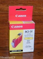 Genuine Canon (BCI-3Y) Yellow Ink Cartridge For BJC-6000 (F47-2201-400) **NEW**